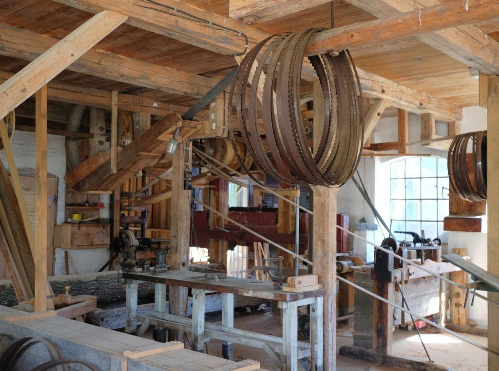 atelier scie radiale
