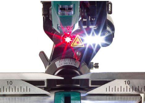 scie à onglet avec laser